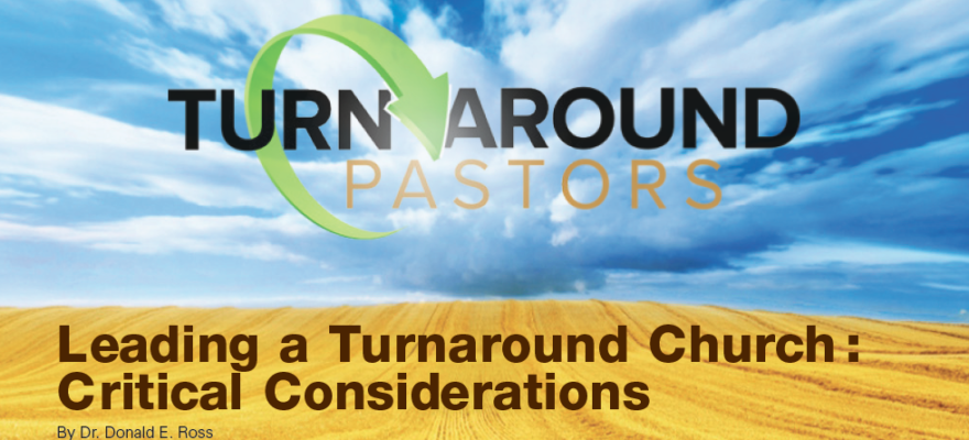 Leading a Turnaround Church